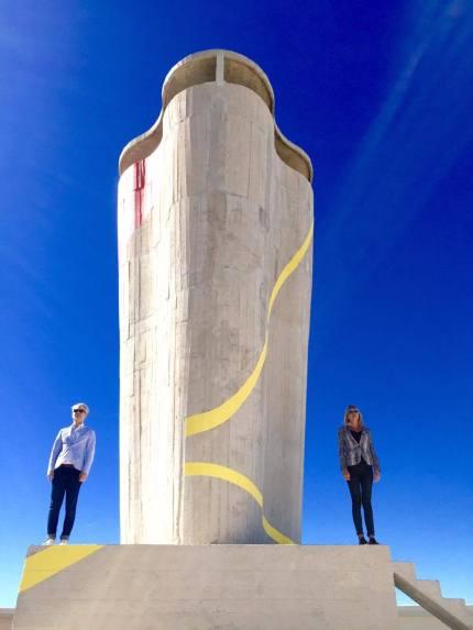 ZAD + Felice Varini+Le Corbusier