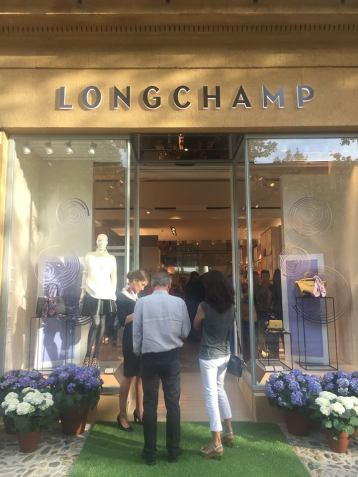 Inauguration boutique Longchamp Aix en Provence 2017